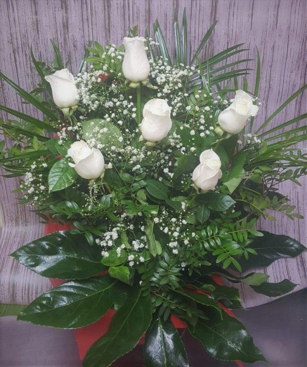 Floristeria_Macheri_Flores_ramo rosas blancas-AMATISTA-