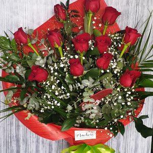Docena de rosas_Floristeria_Jerez_San_Valentin