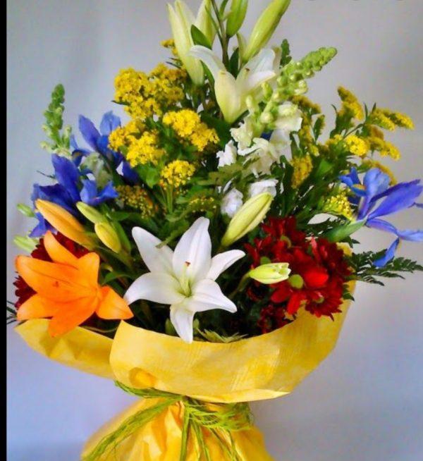 ramo de flores_verano_floristeria macheri jerez
